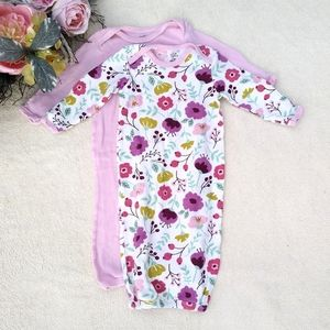Organic Cotton Touched By Nature Baby Gowns